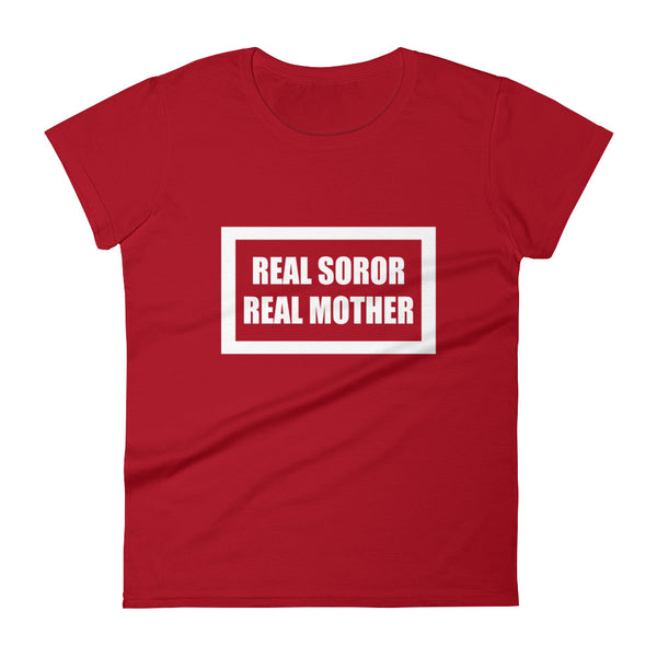 "Delta Inspired ""Real Mother"": Women's short sleeve t-shirt"