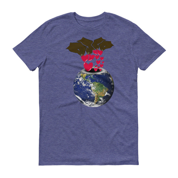 Deposit a Little Love in the World: Mens Short sleeve t-shirt