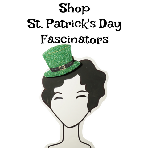 St. Patrick's Day fascinators