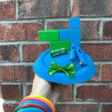 Tetris and Bubble Gum Fascinator, 80s Pop Culture Costume