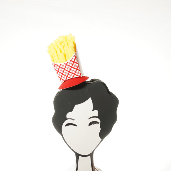 French Fries Fascinator, French Fry Hat, French Fry Decor