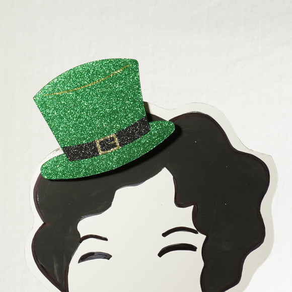 Green St. Patrick's Day Mini Top Hat by A Daily Obsession