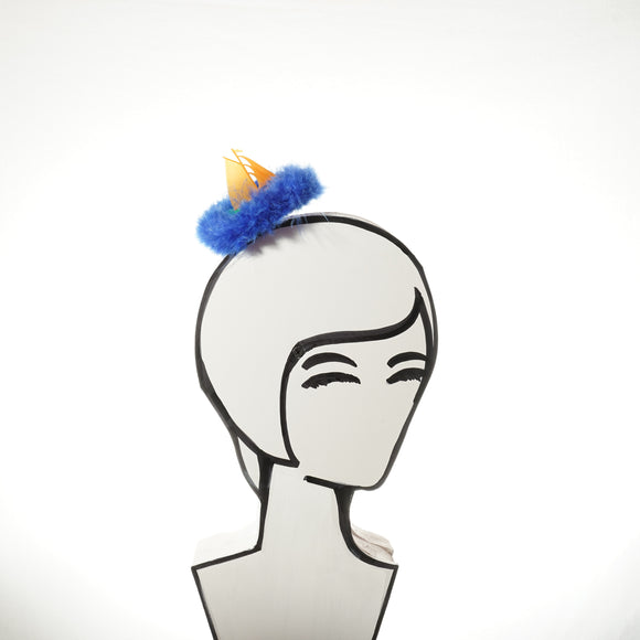 Tiny Sailboat Fascinator, Sailing Hat