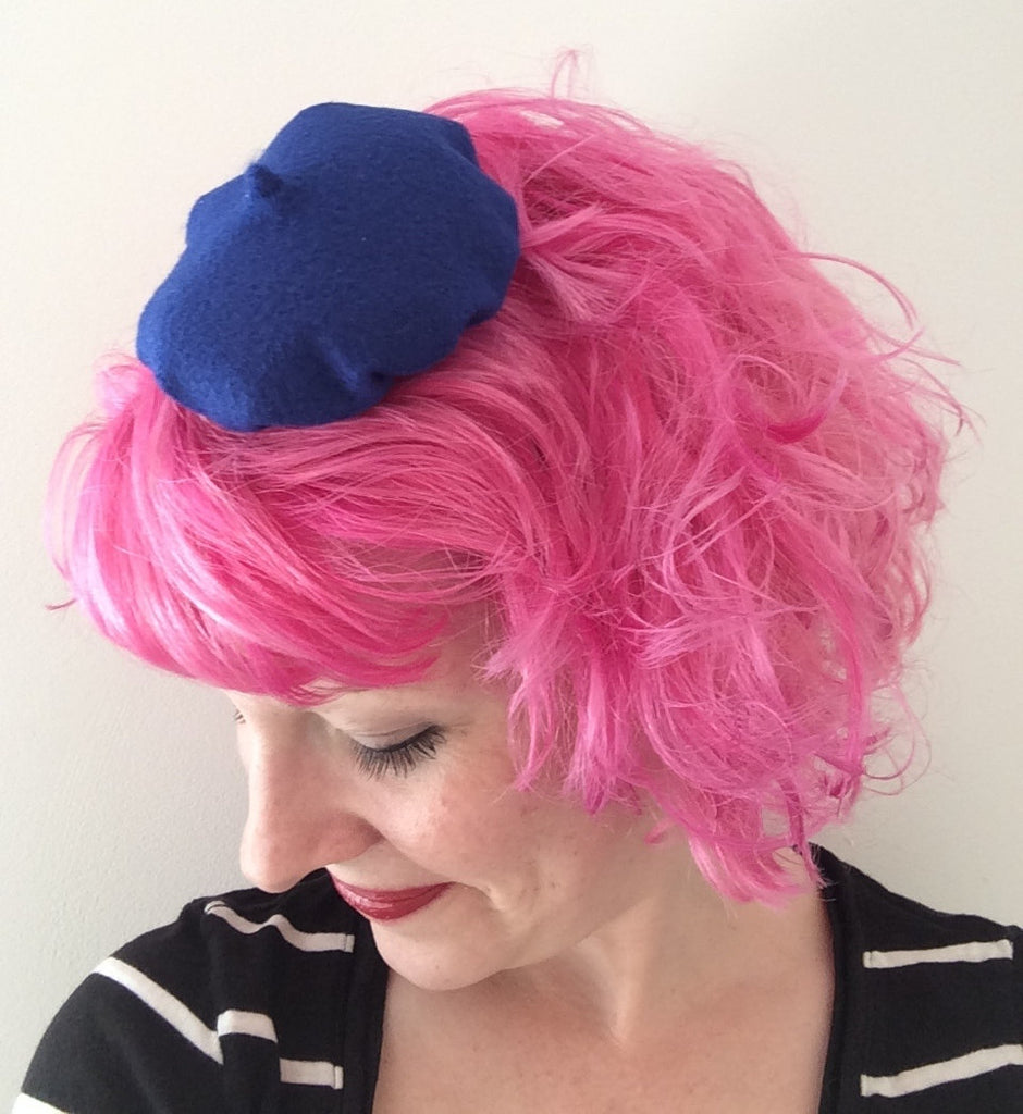 Mini Beret Hair Clip, Beret Fascinator