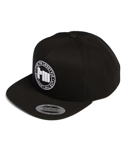 Slogan Stamp Solid Trucker