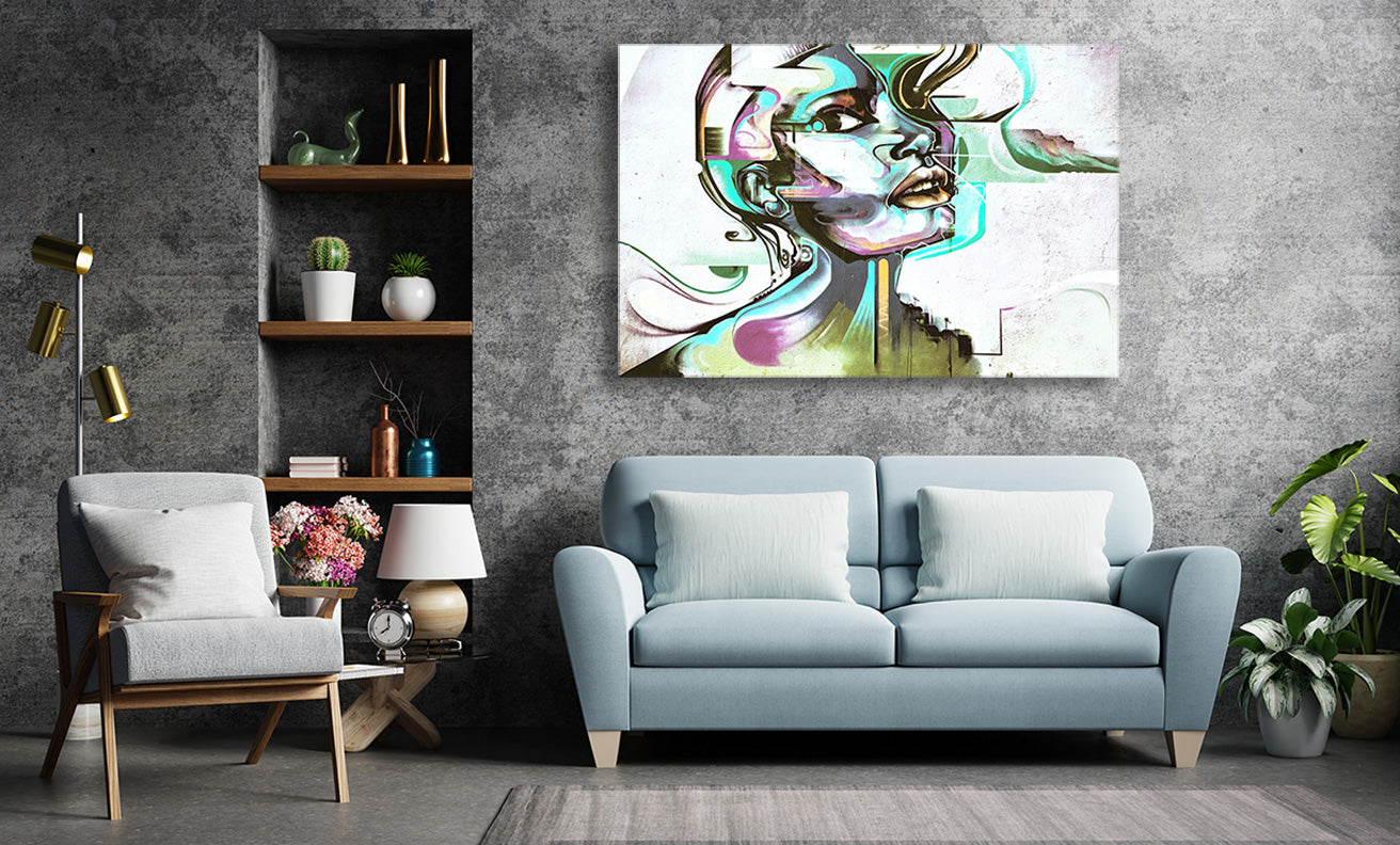 large wall art for loft
