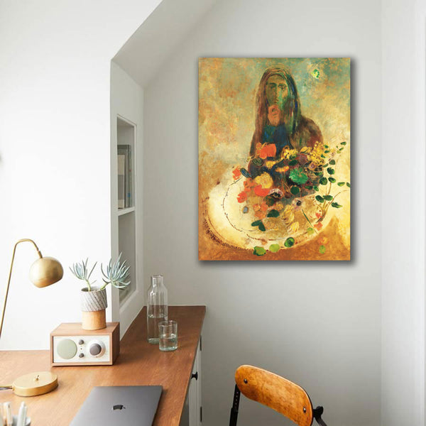 Odilon Redon, Mystery – Reproduction on Metal