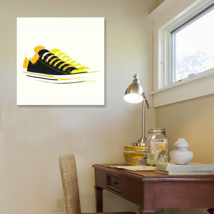 Sneakers Digital Art – Minimalism