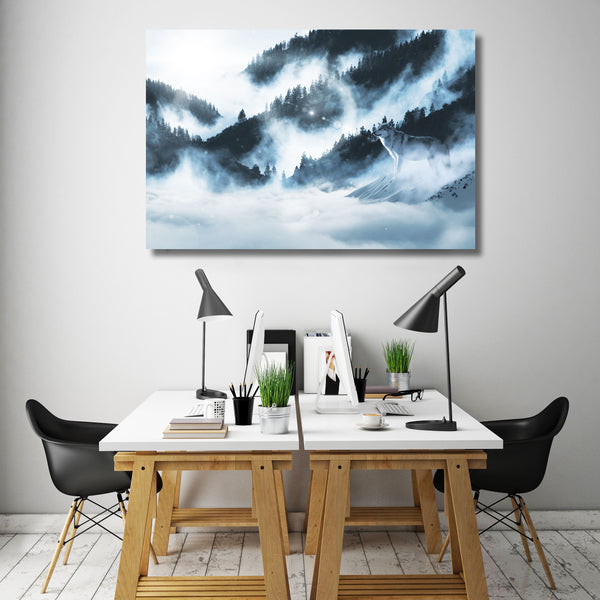 Wolf – Extra Large Metal Wall Art