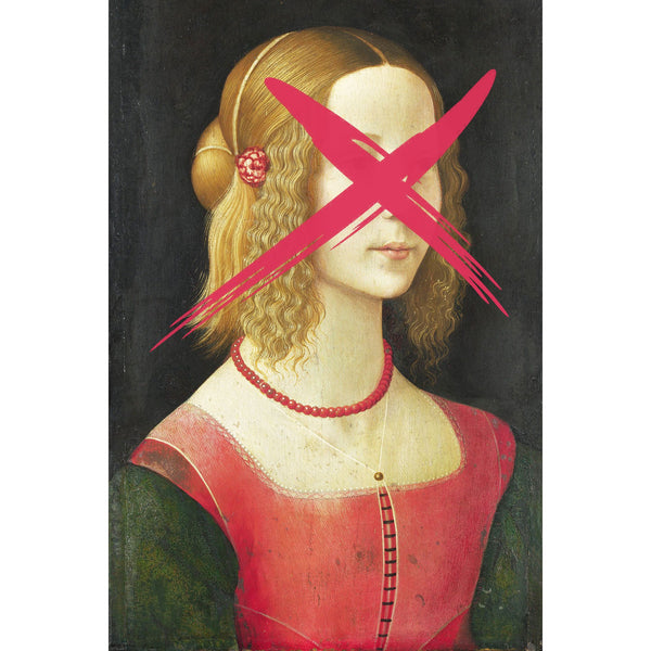 Portrait of a Young Woman by Domenico Ghirlandaio – Altered Art
