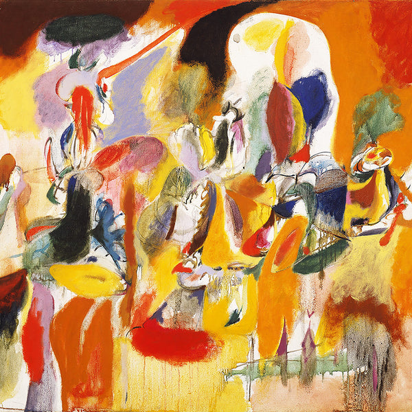 Arshile Gorky Water of the Flowery Mill – Reproduction on Metal