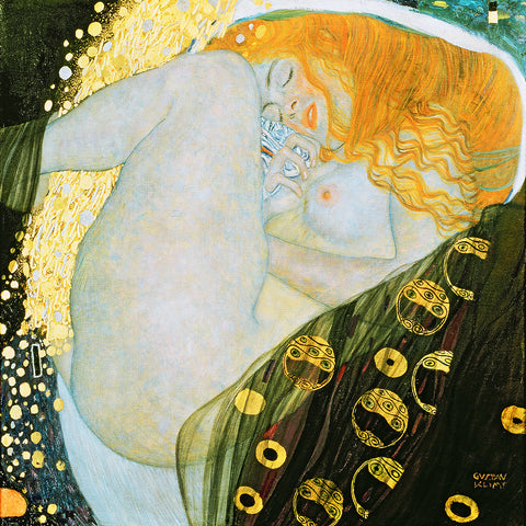 Gustav Klimt, Danae – Reproduction on Metal
