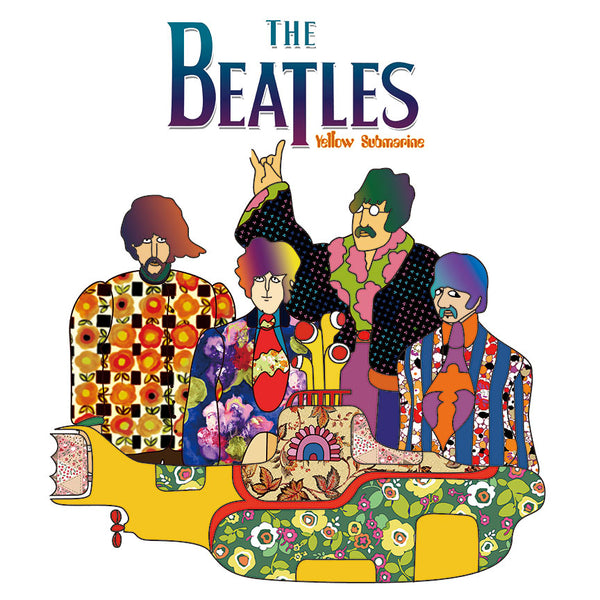 The Beatles Yellow Submarine – Metal Poster