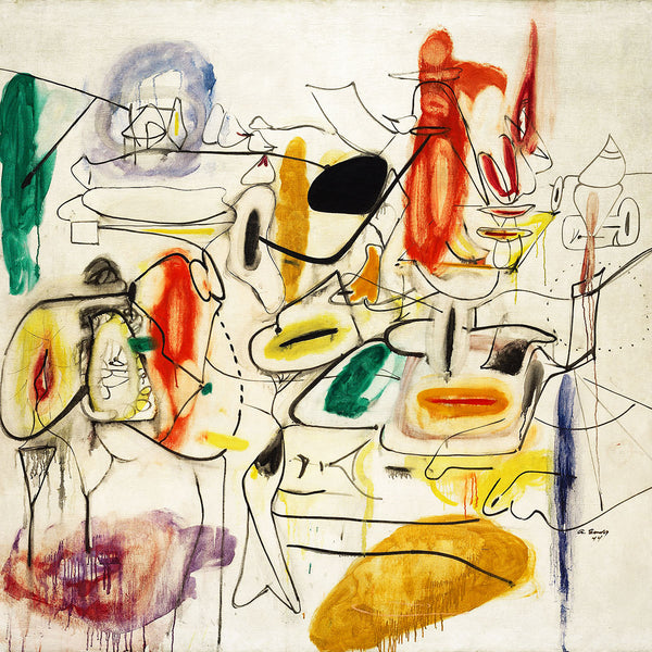 Arshile Gorky, Untitled – Reproduction on Metal