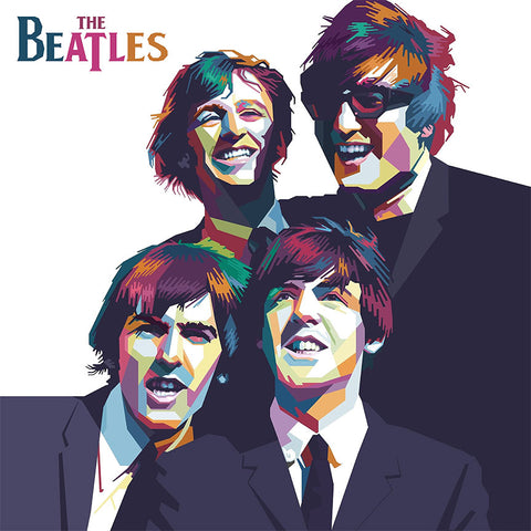 The Beatles – Poster – Large Digital Art on Metal