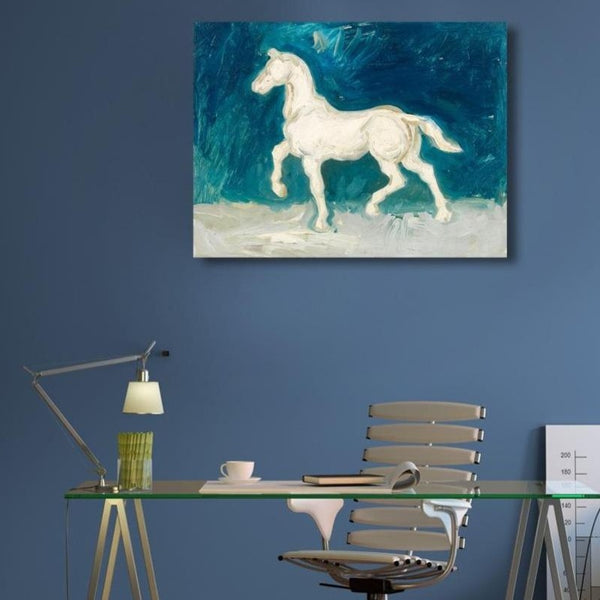 Horse – Reproduction on Metal