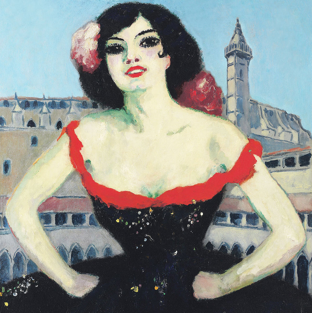 Kees van Dongen La Gitane (1918)  – Reproduction Printed on Metal