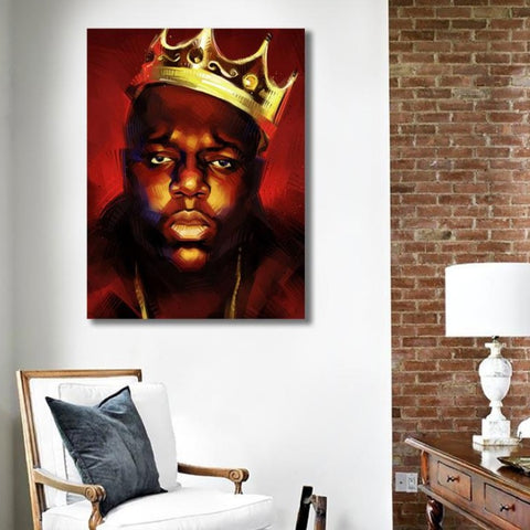 Biggie King – Metal Poster