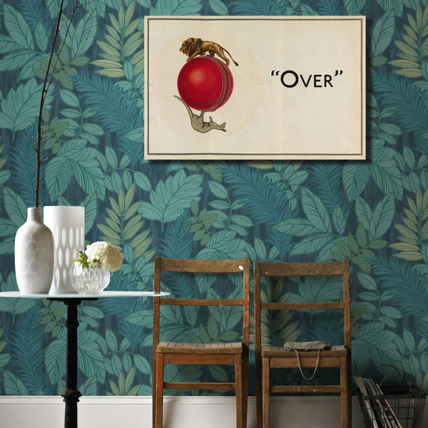 Over by Casson and Black – Vintage Metal Poster