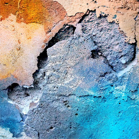 Old Painted Wall Texture in Grunge style – Photo on Metal (Dibond)