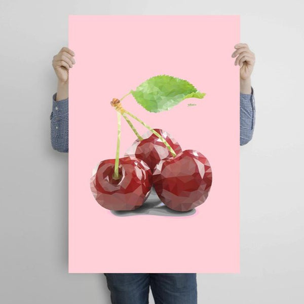 Cherries – Metal Poster