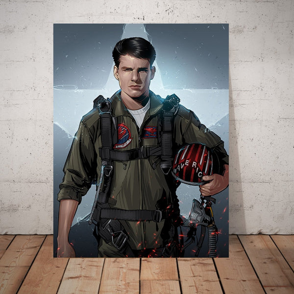 Top Gun by Nikita Abakumov – Metal Poster