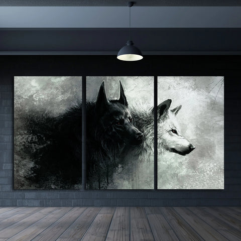 Wolf – Extra Large Wall Metal Art