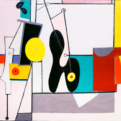 Arshile Gorky – Organization – Reproduction on Metal
