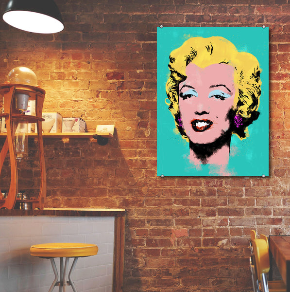 Marylin Monroe – Metal Poster