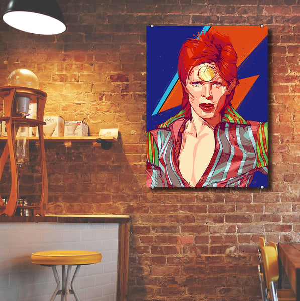 Bowie – Metal Poster