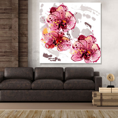 Flowers – Extra Large Digital Art on metal