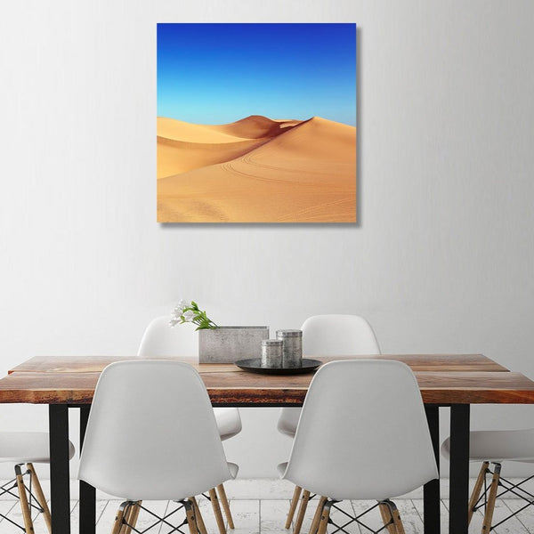 Charm of Desert – Photo on Metal