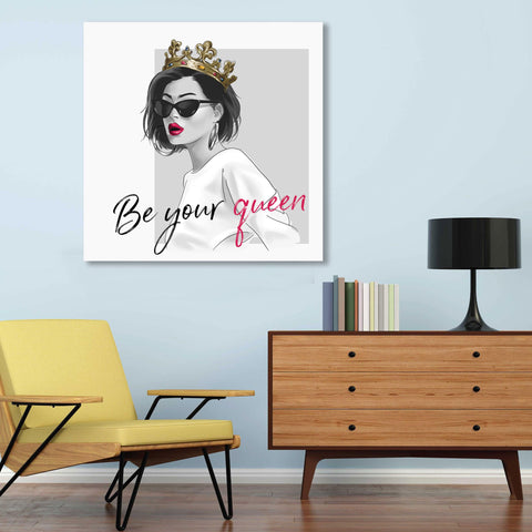 Be Your Queen – Metal Poster