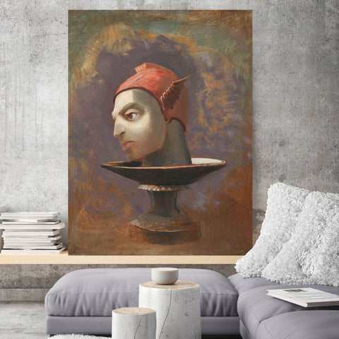Odilon Redon, Kröller – Reproduction on Metal