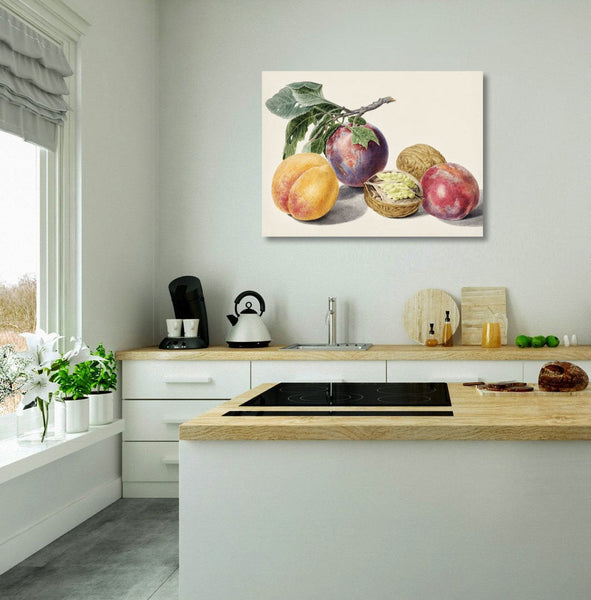 FRUITS – Kitchen Metal Art Print