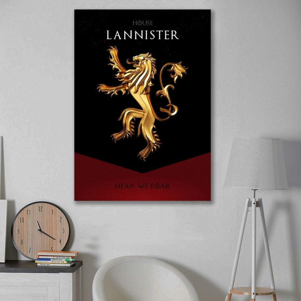 House Lannister – Hear We Roar, Great Houses Game Of Thrones
