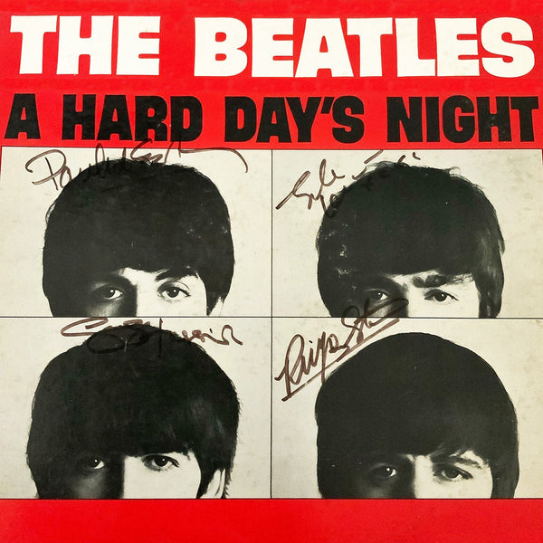 The Beatles A Hard Day's Night  - Metal  Poster