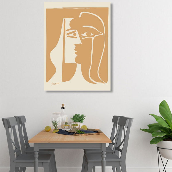 Kiss, Pablo Picasso – Masterpiece Printed on Metal