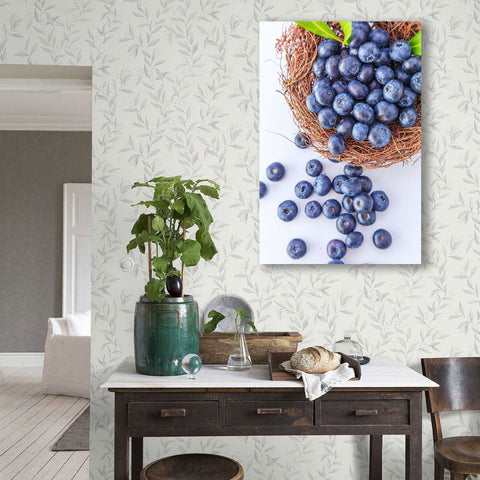 Blueberry, Kitchen Art – Metal Poster