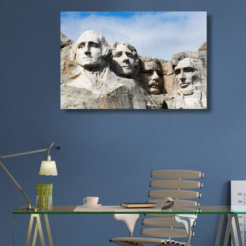 Mount Rushmore National Memorial Four Presidents – Photo on Metal