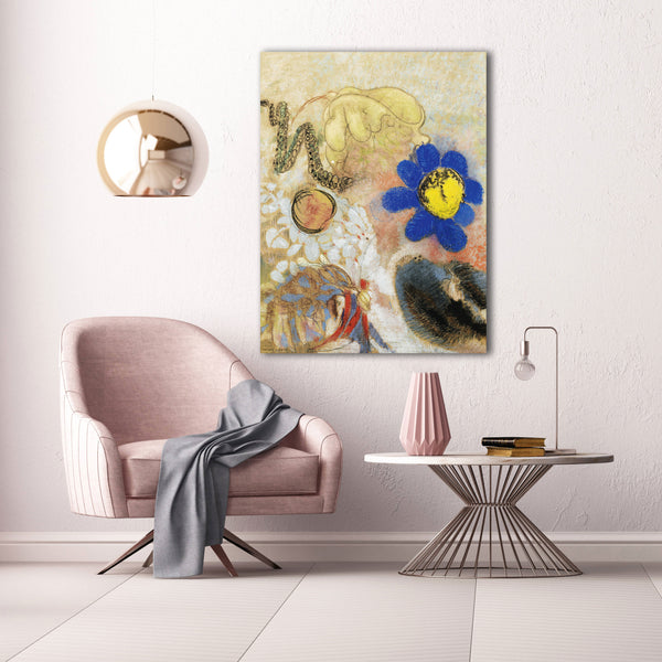 Odilon Redon, Flowers and Plants – Reproduction on Metal