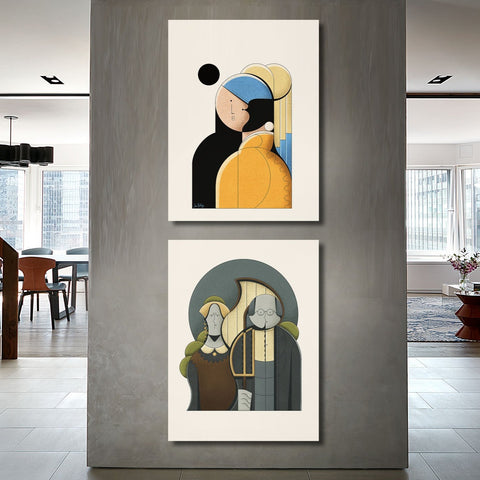 Iconic Images Interpretations – Girl with a Pearl Earring, Vermeer