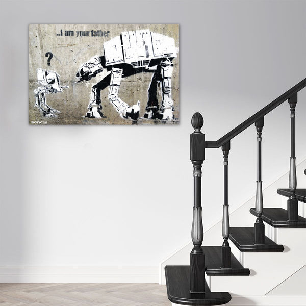Banksy, I Am Your Father, Street Art Graffiti