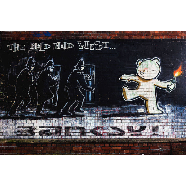 Banksy, The Mild Mild West, Graffiti