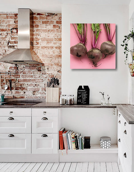 Beets – Extra Large Kitchen Art Print on Metal