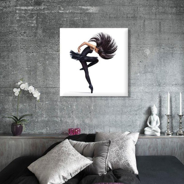 Dance (1) – Large Modern Art – Photo on Metal