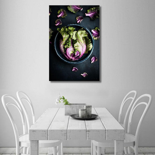Still Life Vegetables – Extra Large Kitchen Art Print on Metal