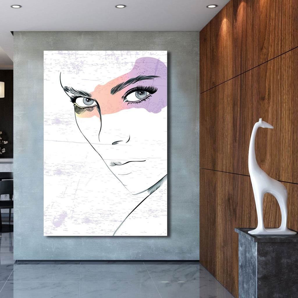 Abstract composition – Extra Large Wall Metal Art Print