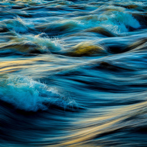 Ocean Sea Waves – Photo on metal