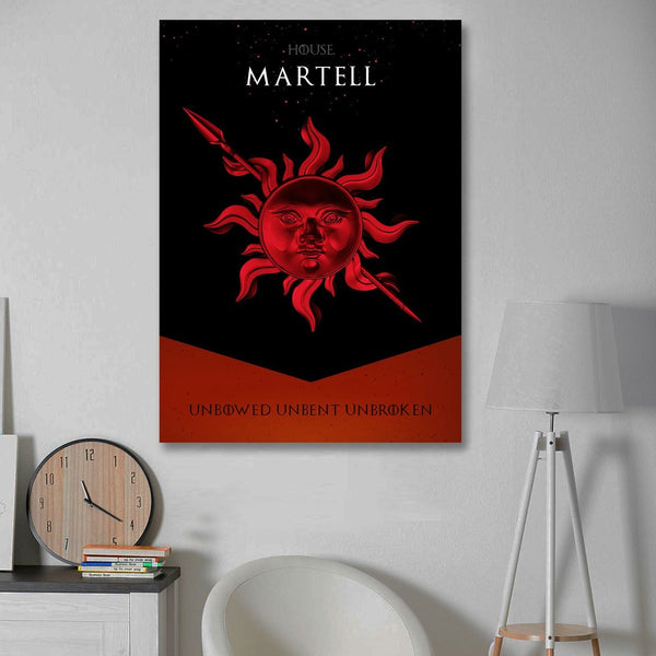 House Martell – Unbowed Unbent Unbroken, Great Houses Game Of Thrones